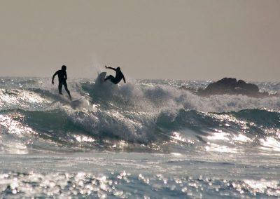 Südafrika Wellenreiten Meer