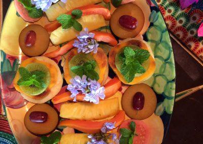 Südafrika Früchte Frühstück