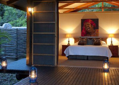 Südafrika Game Drive Makakatana Bay Lodge Design