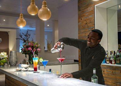 Südafrika Sea Five Boutique Hotel Cocktails