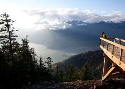 Sea To Sky Gondola Aussichtsplattform, © Tourism Vancouver