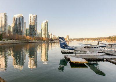 Wasserflugzeuge Im Hafen, © Tourism Vancouver